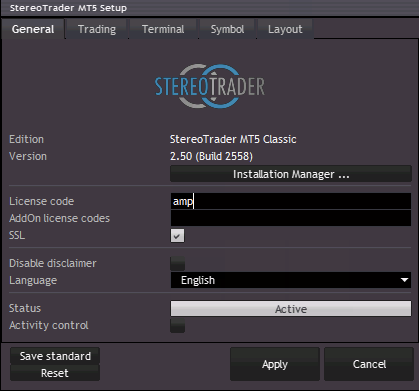 StereoTrader - MetaTrader 5 (MT5) - Installation Steps – AMP Global